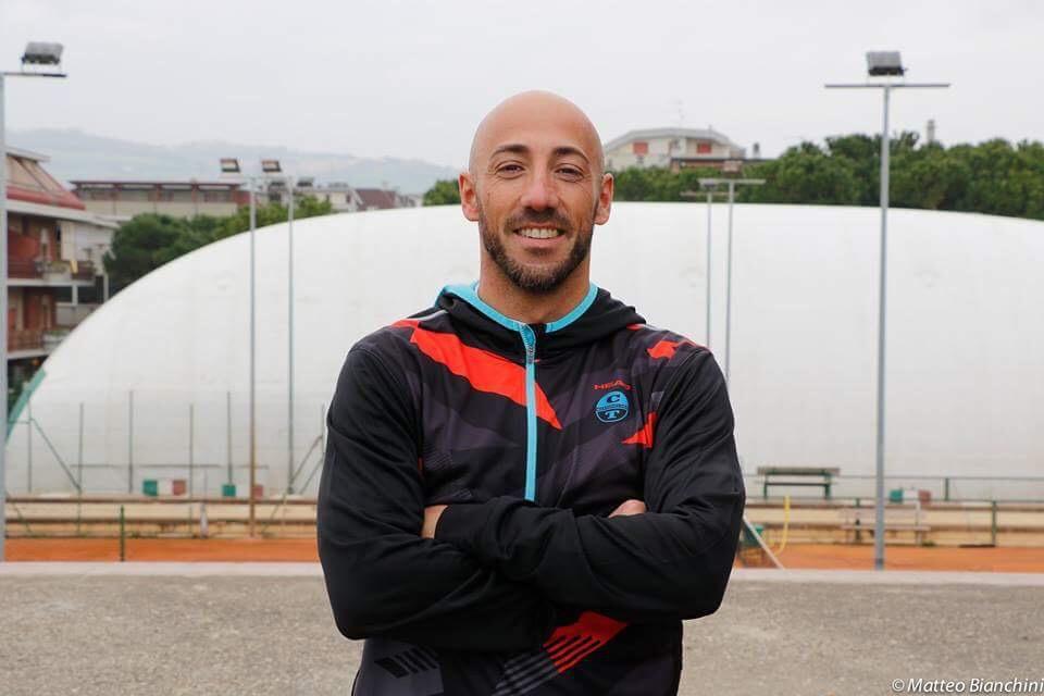 """Ivan Ripani da record in Serie C –  Tre partite vinte, zero game persi: """"Gioco per la squadra: Martinsicuro nel cuore"""""""